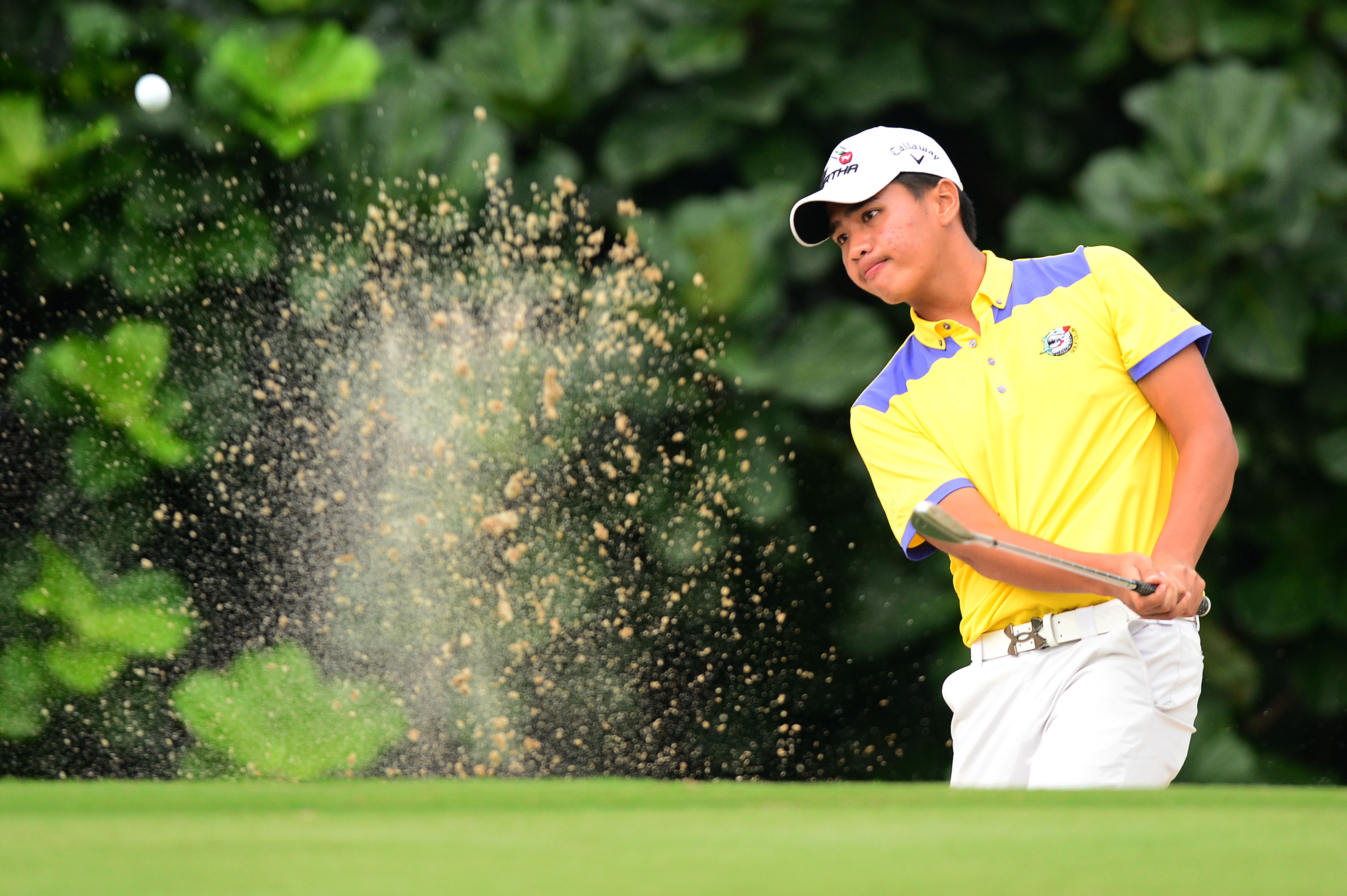JAKARTA 18 November 2016 : Almay Rayhan Yaqutah of Indonesia pictured during the round two of the Bank BRI-JCB Indonesia Open 2016 at the Pondok Indah Golf Club, Jakarta, INDONESIA. Pix by Arep KULAL/Asian Tour