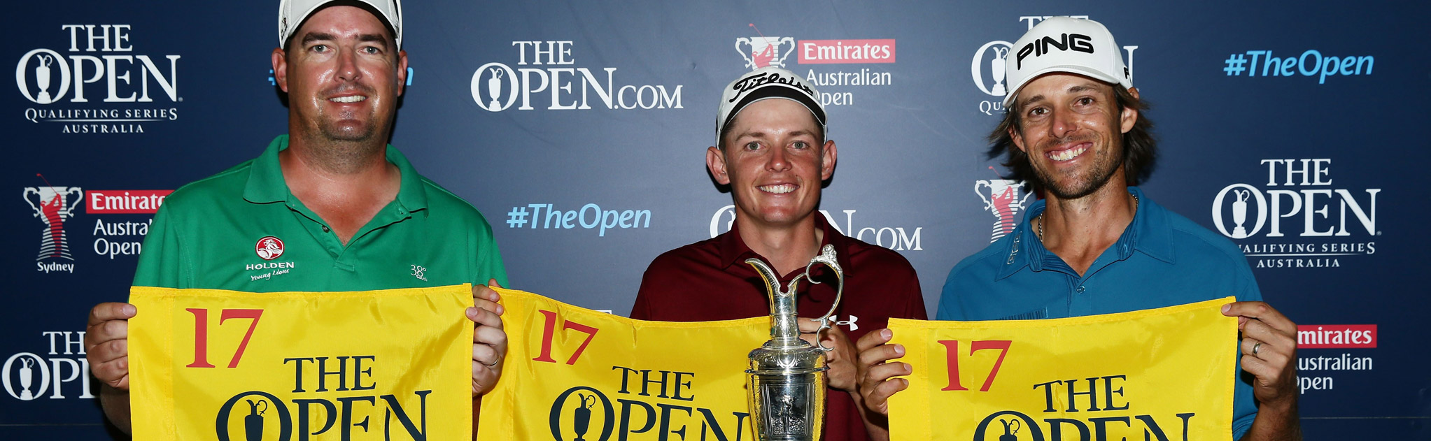 ashley-hall-cameron-smith-and-aaron-baddeley-receive-their-ticket-to-the-open