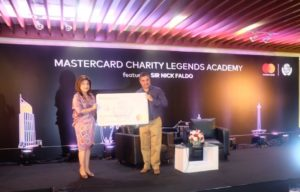 Mastercard Charity Legends Academy with Sir Nick Faldo