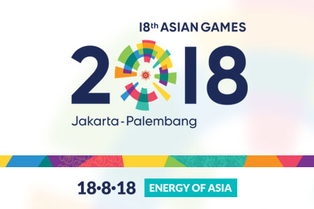 Logo Asian Games  Asiangames Id