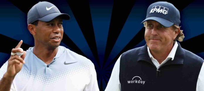 Duel Tiger Woods vs Phil Mickelson