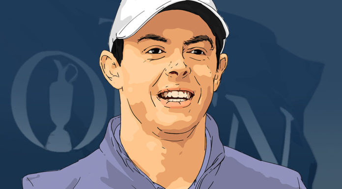 Ilustrasi Rory McIlroy the Open