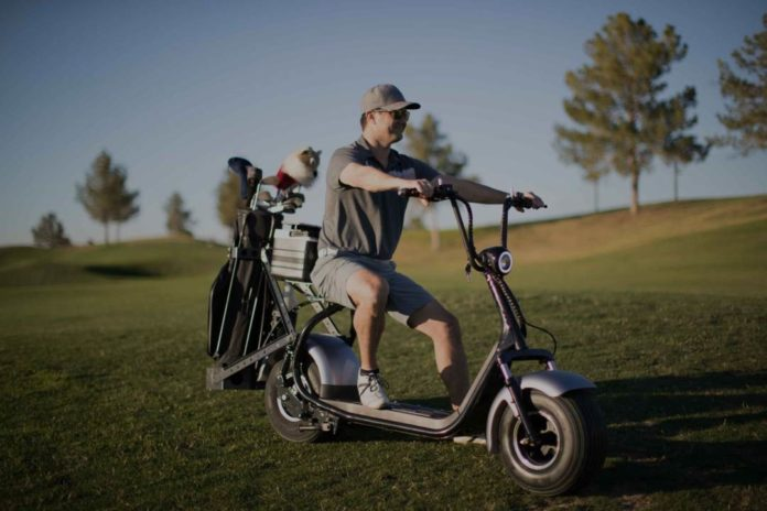 Path Golf Scooter
