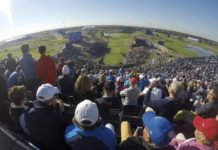 first tee Ryder Cup 2018