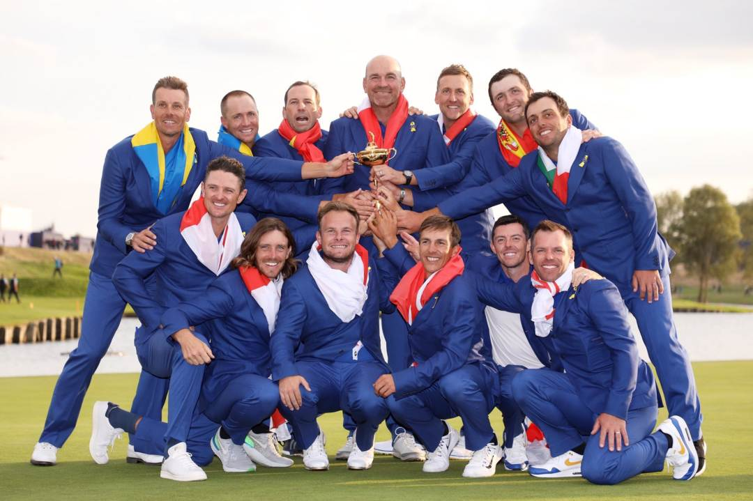 Europe win Ryder Cup 2018