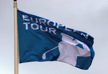 European Tour Flag AGolf