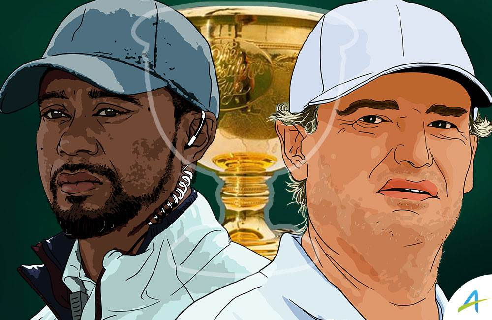 Tiger Woods and Ernie Els Presidents Cup 2019