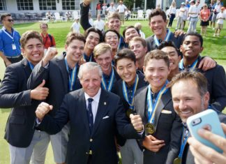 Junior Presidents Cup Gary Player