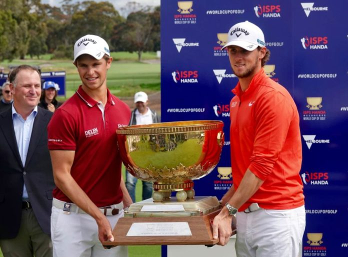 Belgia ISPS Handa Melbourne World Cup of Golf