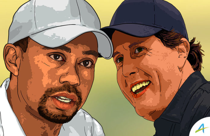 Tiger dan Phil Mickelson / AGolf Design