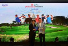 Justin Rose BNI Indonesian Masters