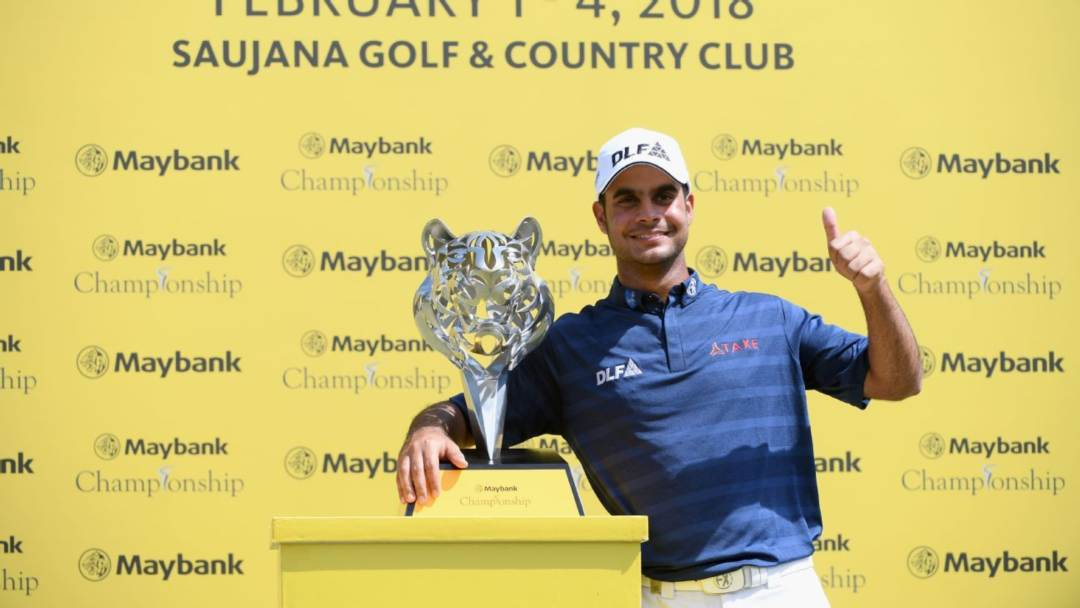 Shubhankar Sharma Asian Tour Habitat for Humanity Standings