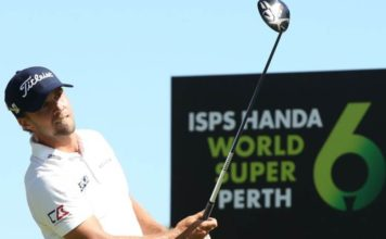 Per Langfors ISPS Handa World Super 6 Perth