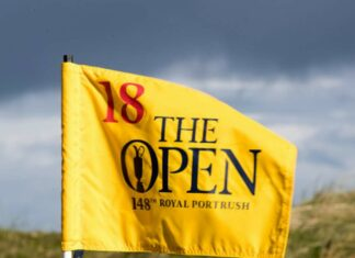 Flagstick the Open 2019 di Royal Portrush