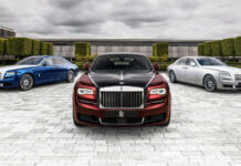 Rolls-Royce ghost zenith collection