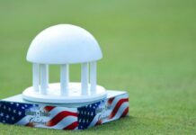 A Military Tribute at The Greenbrier Tee Marker / Golfweek.com
