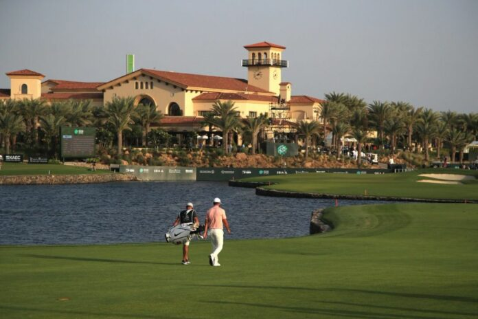 Gambaran lapangan Royal Greens Golf and Country Club, tuan rumah Saudi International / Twitter: SaudiInternational