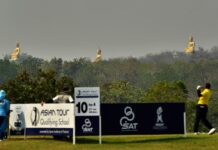 Pemandangan indah Asian Tour Qualifying School di Thailand / Asian Tour