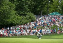 Penonton yang menyaksikan Tiger Woods di Memorial Tournament / Golf.com