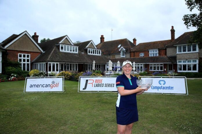 Gemma Dryburgh raih gelar kedua Rose Ladies Series secara beruntun, Twitte Rose Ladies Series