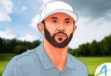 Dustin Johnson samai rekor No.1 dunia milik Nick Faldo / AGolf Design