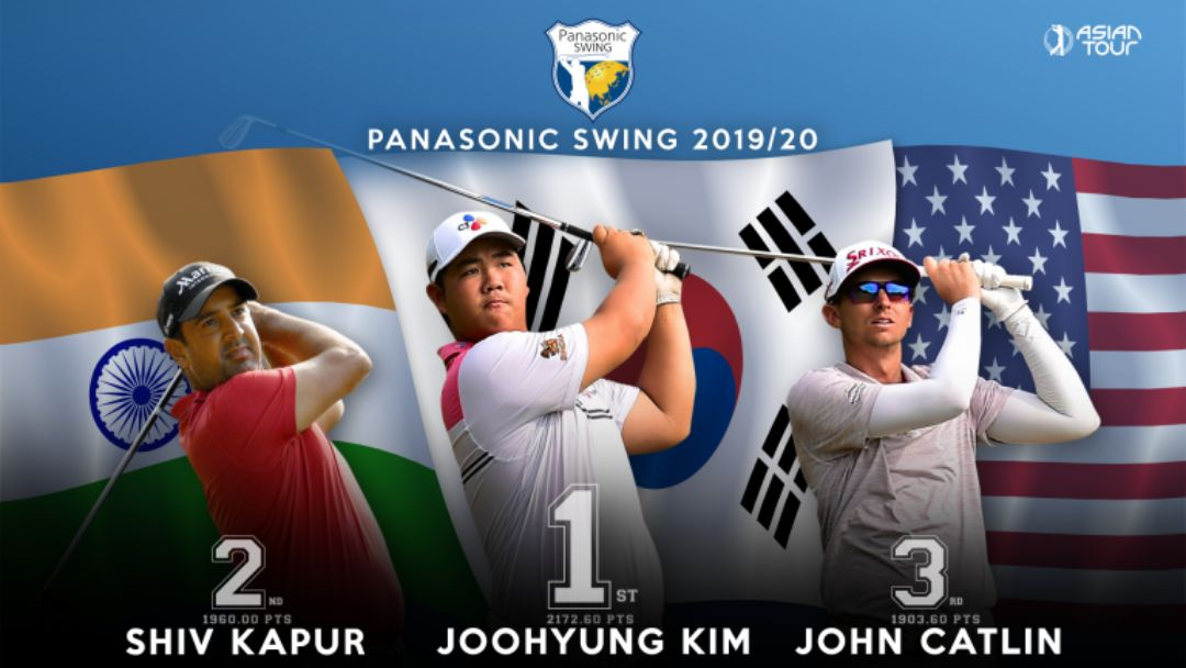 Panasonic Swing 2019.2020 dimenangkan Joohyung Kim / Asian Tour